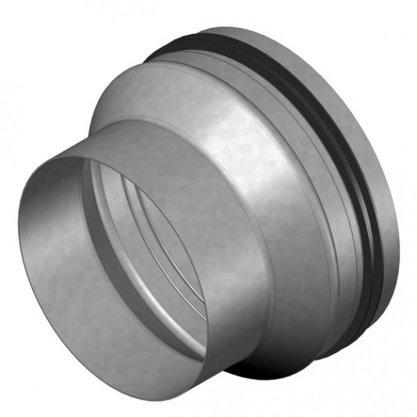 IP-ARZ 160/180, Anschluß-Reduzierung Muffe DN 160 auf Stutzen DN 180 mit Dichtung