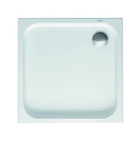 DU Duschwanne D-Code 800x800x85mm Quadrat, weiß