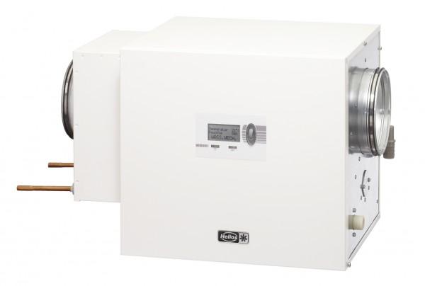 KWL HB 500 WW R, KWL HygroBox Zuluft rechts, WW-Vorheizung 500 cm/h Volumenstrom