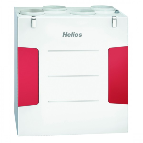 Helios KWL EC 300 W L Lüftungsgerät links,EC-Motoren,Auto-Bypass,Web-Server