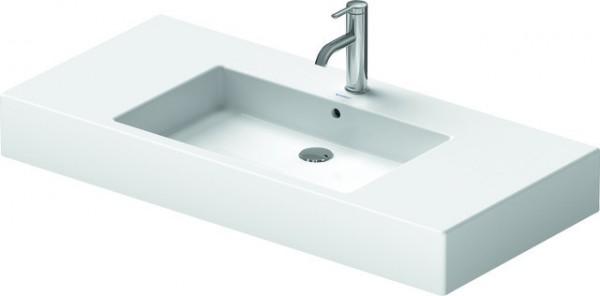DU Möbelwaschtisch Vero 1050 mm mit ÜL, mit HLB, 1 HL, weiß