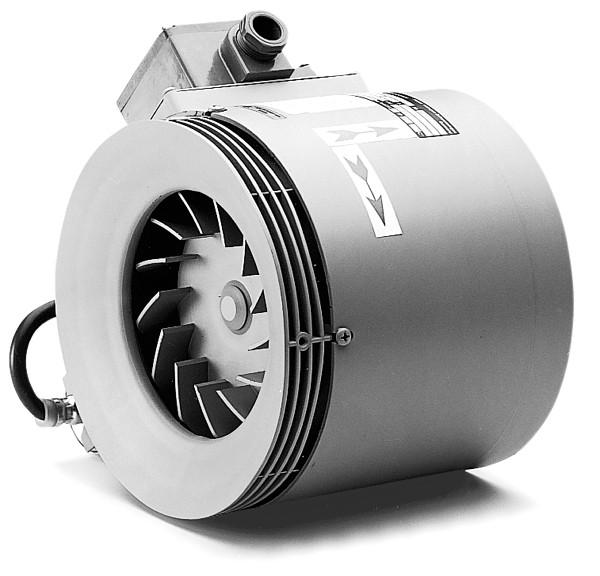 RRK 250 EX, Radial-Rohrventilator, 1-PH EX-geschützt nach Richtlinie 94/9 EG, II 2G