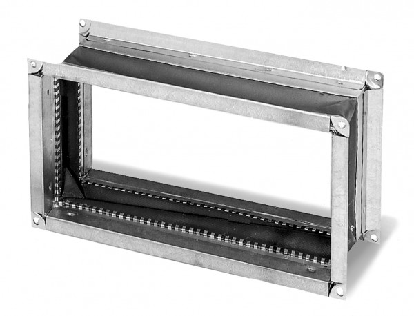 VS 70/40 EX, Flexibles Verbindungsstück rechteckig für EX-Ventilatoren mit Flanschen