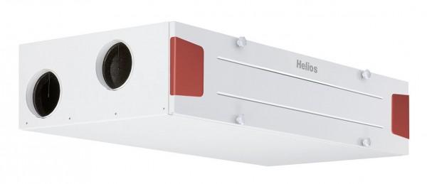 Helios KWL EC 340 D R KWL-Deckengerät rechts,EC-Motoren,Auto-Bypass,Web-Server
