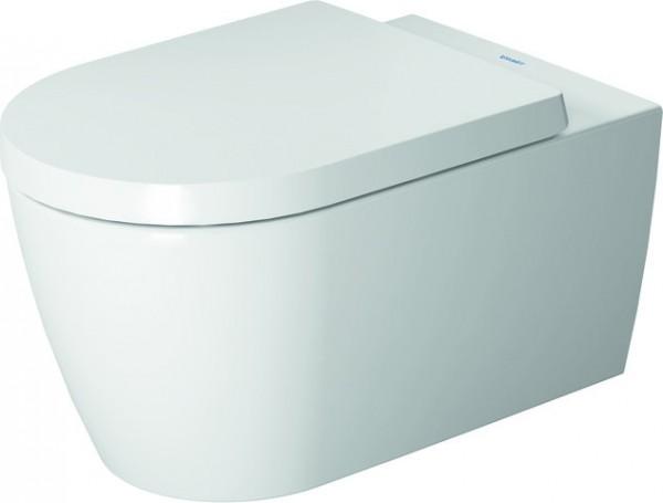 DU Wand-WC ME by Starck 570 mm Tiefspüler, Durafix, weiß HygieneGlaze