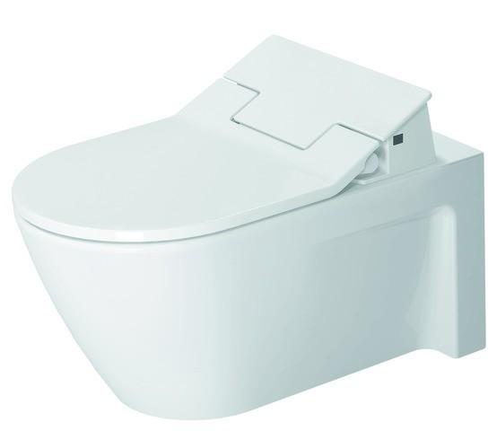 DU Wand-WC Starck 2 620 mm, Tiefspüler Durafix, f.SW m.verd.Anschl., weiß