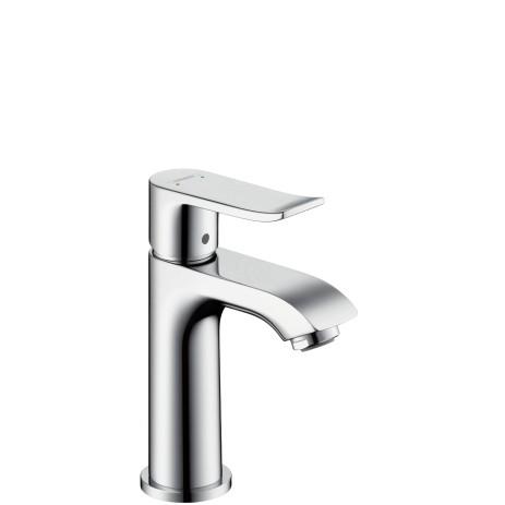 HG Waschtischmischer 100 Metris für Handwaschbecken ohne Ablaufgarnitur chr.