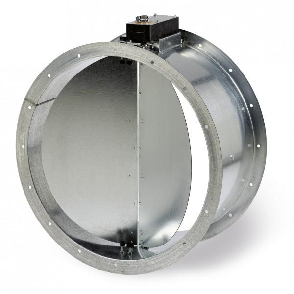 Helios RVM 250 Rohr-Verschlußklappe motorbetätigt