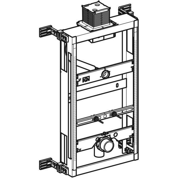 GE Kombifix Element für Urinal, 98 cm Universal, Betätigung von oben