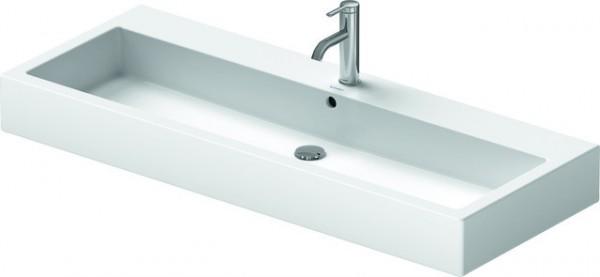 DU Waschtisch Vero 1200 mm mit ÜL, mit HLB, 2 HL, weiß