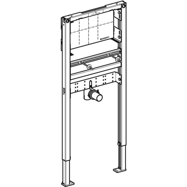 GE Duofix Element für WT, 112-130 cm, Unterputzarmatur