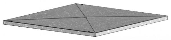 GB-KW 400/450/500, Kondensatwanne zu Gigabox NG 400,450,500