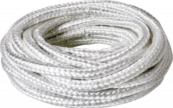Asbestfreie Dichtschnur Packung vierkant, 10 x 10 mm, VPE = 10 m