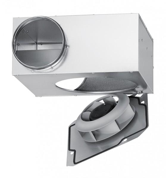 SVR EC 160 B, SlimVent EC Radialventilator mit Rohranschluß DN 160mm 1-PH 200-240V 50/60Hz regelbar
