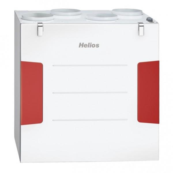 Helios KWL EC 500 W L Lüftungsgerät links,EC-Motoren,Auto-Bypass,Web-Server