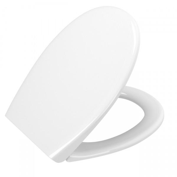 VT WC-Sitz S20 Duroplast oval Universal ohne Absenkautomatik Weiß Hochglanz