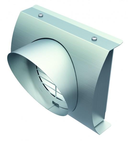 Helios IP-FBF 125 ISOPIPE-Fassadenblende Fortluft DN 125
