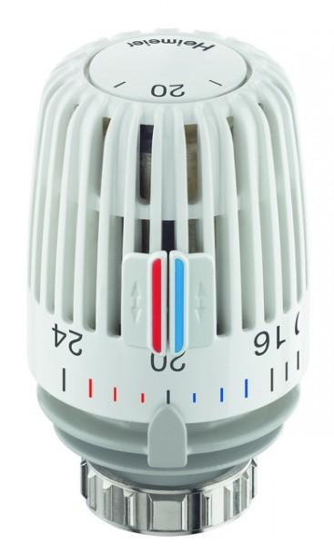HEIMEIER Thermostat-Kopf K weiß,Standard, Skala m. Temperaturwerten
