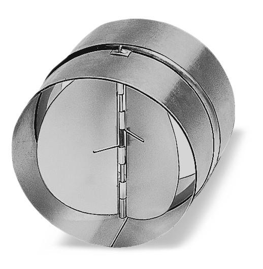 RSKK 100, Rohr-Verschlußklappe aus Kunststoff, DN 100 mm