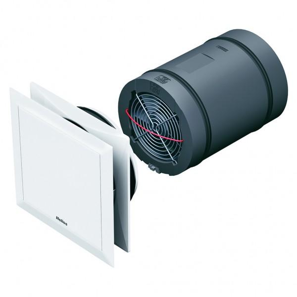 Helios KWL EC 45 Lüftereinheit kpl. mit Innenblende und Filter