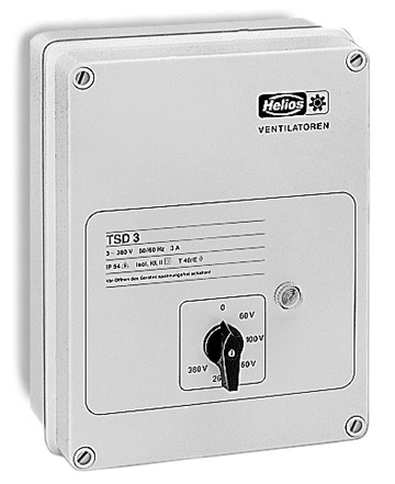 TSD 3,0, Trafo-Drehzahlsteller 3-PH, 400 V, 3,0 A
