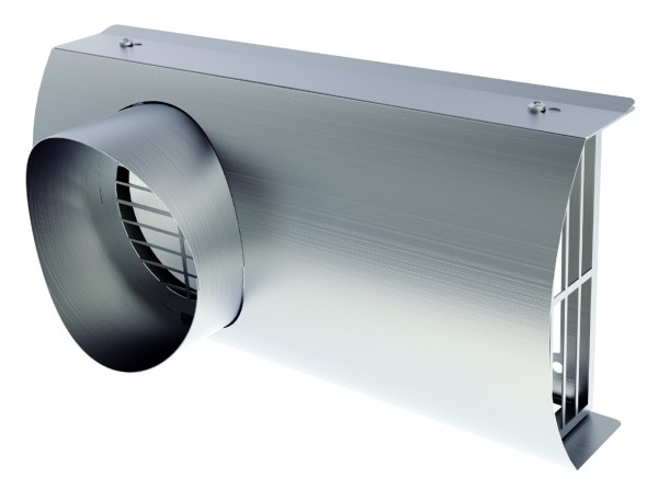 Helios IP-FKB 125 B Fassaden-Kombiblende DN 125