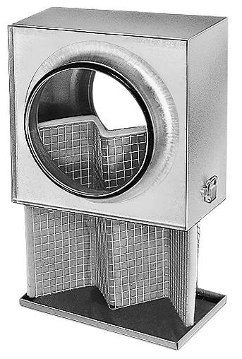 LFBR 200, Luftfilter-Box für Rohrdurchmesser 200 mm