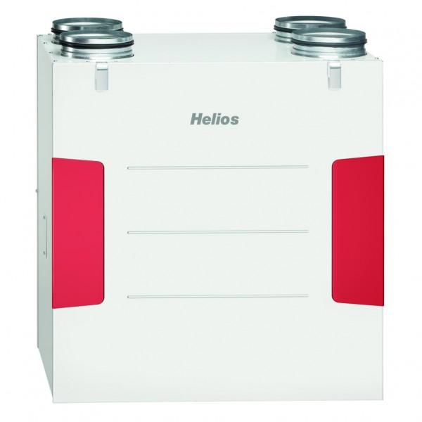 Helios KWL EC 370 W R Lüftungsgerät rechts,EC-Motoren,Auto-Bypass,Web-Server