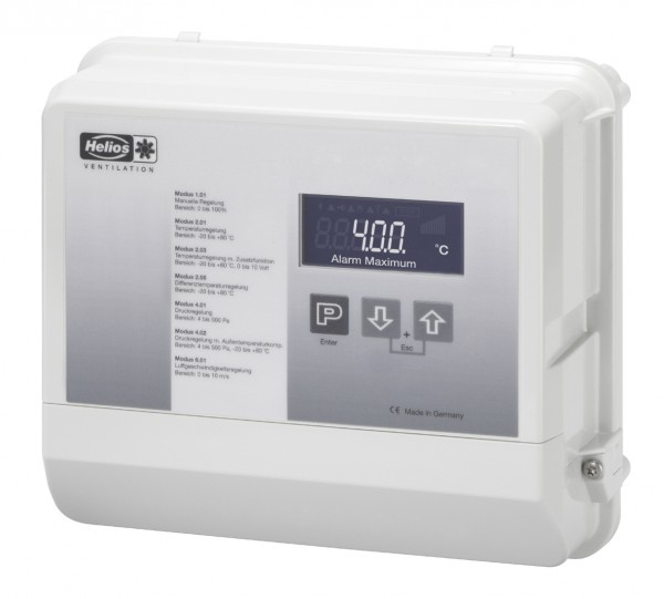 EUR EC, Elektron. Universal-Regelgerät zur stufenl. Drehzahlregelung von EC Ventilatoren