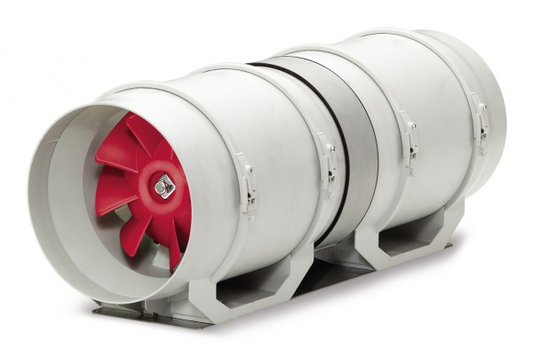 MVZ 125, Multivent zweistufige Ventila- tor-Unit, 1-PH, (kompletter Bausatz in 3 Karton)