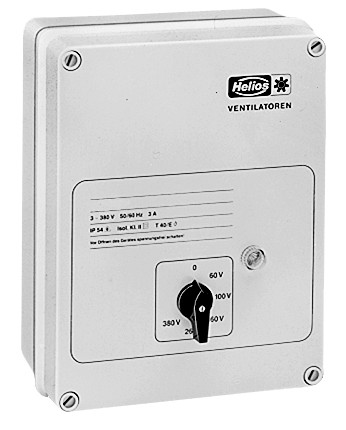MWS 10, Trafo-Drehzahlsteller mit Motorvollschutzeinrichtung 1-PH, 230 V, 10,0 A
