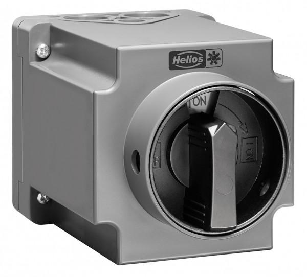 RS 6+1 7,5, Revisionsschalter, 6-polig 7,5 kW AC-23B, 400V, 3 ~ IP 65, Verriegelung in 0 und I