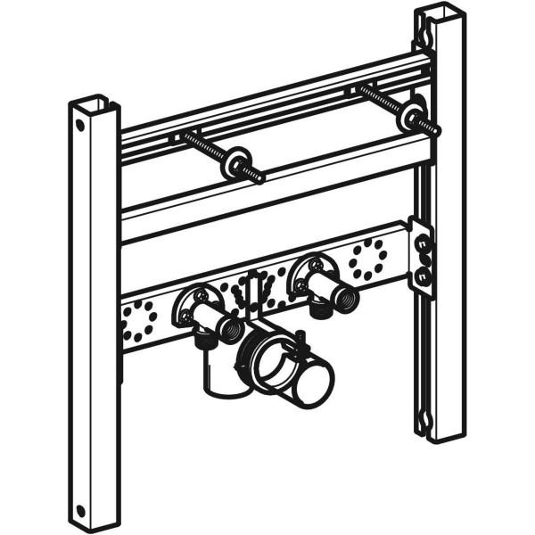 GE Duofix Element für WT, 50-50 cm, Standarmatur