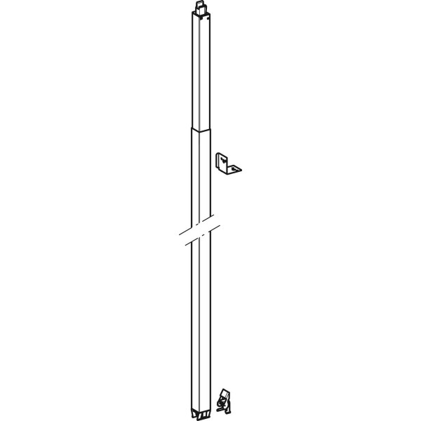 GE Duofix Systemständer raumhoch 260-320 cm