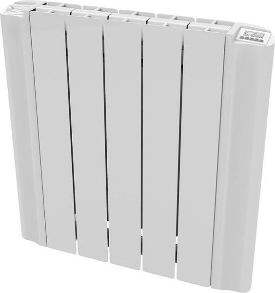Aluminium-Heizkörper Elektrisch eSimun GD 5815, 1500 Watt, RAL 9010