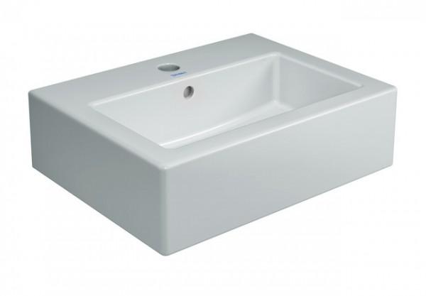 DU Handwaschbecken Vero 450 mm m.ÜL, m.HLB, 1 HL, geschl., weiß