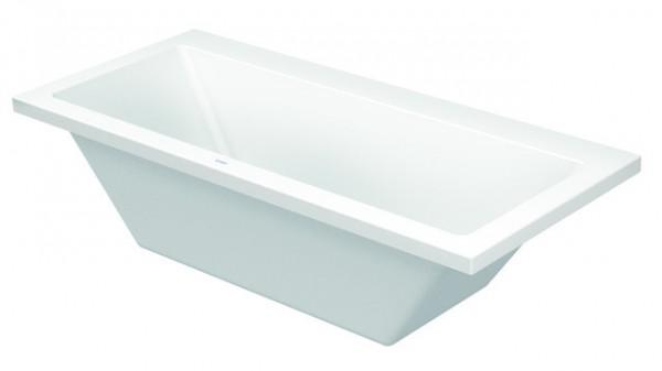 DU Badewanne Vero 1800x800mm Einbauversion, 2 Rückenschrägen, weiß