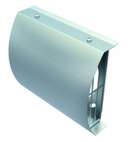 Helios IP-FBA 125 ISOPIPE-Fassadenblende Außenluft DN 125