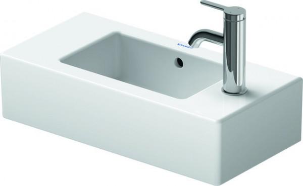 DU Handwaschbecken Vero 500 mm mit ÜL, mit HLB, HL-Vst., weiß WG