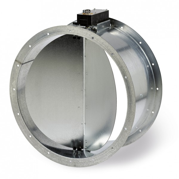 RVM 400, Rohr-Verschlussklappe motorbetätigt, DN 400