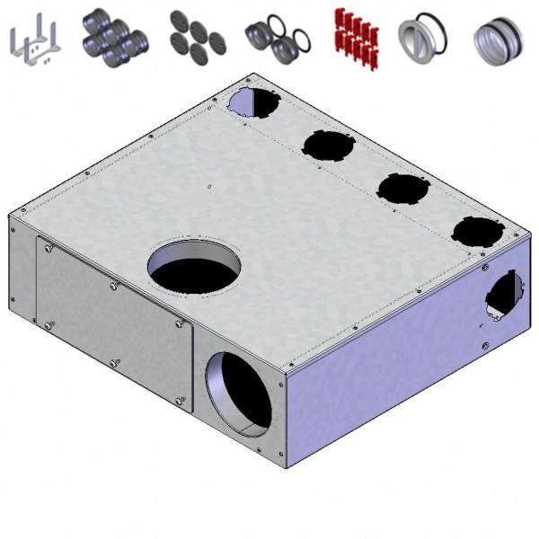Helios FRS-MVK 4+1-75/125 Multi-Verteilerk., 5 x DN 75, 2 x DN 125