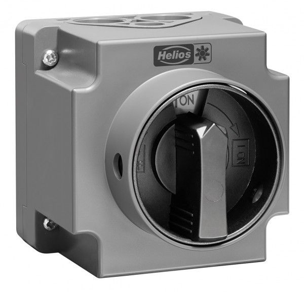 RS 3+1 7,5, Revisionsschalter, 3-polig 7,5 kW AC-23B, 400V, 3 ~ IP 65, Verriegelung in 0 und I