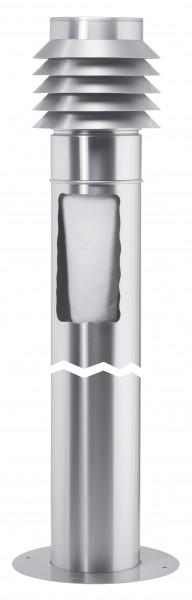 Helios LEWT-A Außenluft-Ansaugsäule mit Filter zu EWT-Bausatz