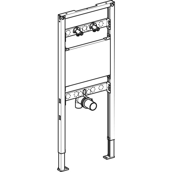 GE Duofix Element für Ausgussbecken 130 cm Wandarmatur AP