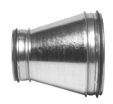 Reduzierung UR mit Lippendichtung NW 250/200mm