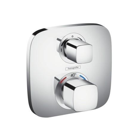 HG Thermostat Unterputz Ecostat E Fertigset 2 Verbraucher chrom
