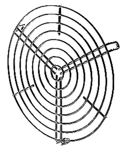 SGR 315, Schutzgitter zu Rohrdurchm. 315 mm