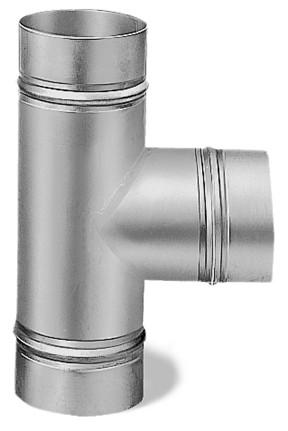 TS 100, T-Abzweigstück DN 100 mm