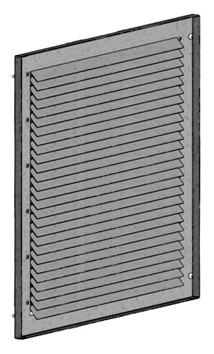 GB-WSG 315/355, Wetterschutzgitter zu Gigabox NG 315,355