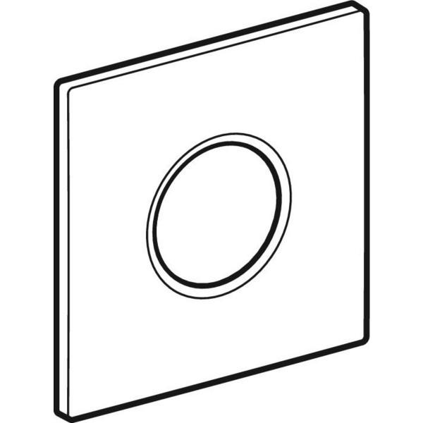 GE Abdeckplatte Sigma01 alpin-weiss